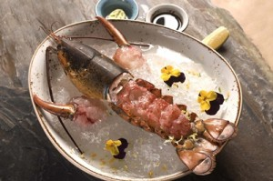 live-boston-lobster-tail-sashimi