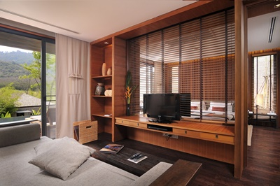 8. Living Room and Bedroom