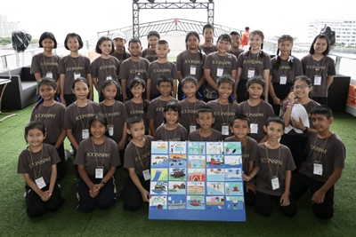 10. An educational camp and a field trip that educate the participating students the Chao Phraya River