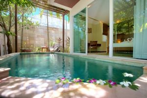 Away Koh Samui Elements Resort and Spa garden villa pool 3