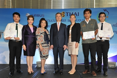 TG082-THAI Presents First Place Prize for Second TG Travel Green Innovation Competition