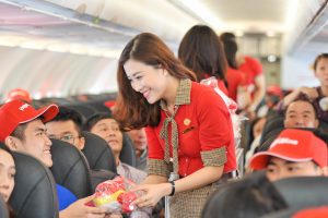 Vietjet is committed to joyful flights