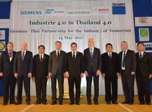 Industries 4 0 in Thailand 4 0 At Napalai Ballroom, Dusit
