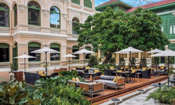 The Courtyard's New Menu & Set Lunch at The House on Sathorn