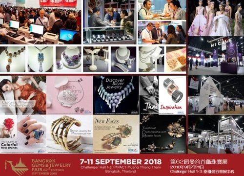 The World's Largest Jewelry Marketplace – The 62nd Bangkok Gems & Jewelry Fair 2018, Integration of Modern Trade and Artistry of Unique Thai Charm